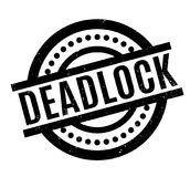 Deadlock rubber stamp Stock Photography