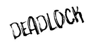 Deadlock rubber stamp Stock Photos