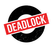 Deadlock rubber stamp Stock Images