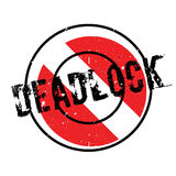 Deadlock rubber stamp Royalty Free Stock Photo