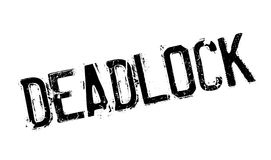 Deadlock rubber stamp Royalty Free Stock Images
