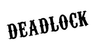 Deadlock rubber stamp Royalty Free Stock Image