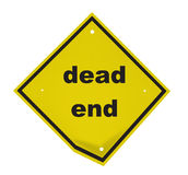Deadlock. A traffic sign Stock Image