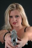 deadly женщина Стоковое Изображение RF