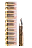 Deadly bullets Stock Photo