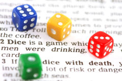 Deadly game Stock Images