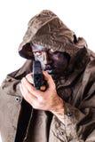 Deadly infantryman Stock Photos