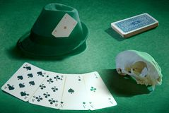 Deadman hand (poker) Stock Photo