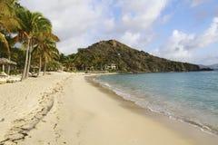 Deadmans Beach, British Virgin Islands. Beautiful empty beach in the british virgin islands Royalty Free Stock Photo