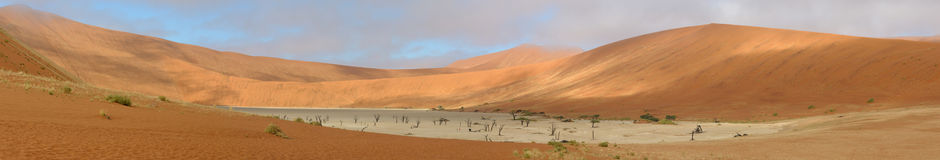 Deadvlei panorama 8 Stock Photo