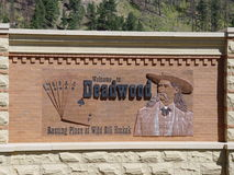 deadwood Royaltyfri Foto
