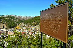 Deadwood South Dakota Royalty Free Stock Images