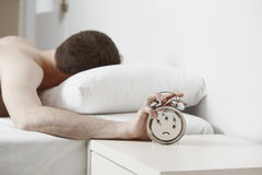 Deafen clock alarm Royalty Free Stock Photo
