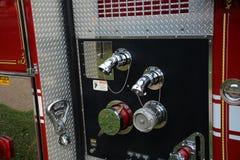 Deail för brandlastbil Royaltyfri Foto