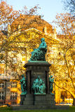 Deak Ferenc Statue in Budapest Royalty Free Stock Image