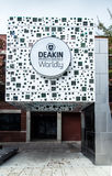 Deakin University in Geelong. The Geelong Waterfront campus of Deakin University in Geelong, Australia Royalty Free Stock Photos