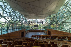 Deaking Edge theatre at Federation Square Royalty Free Stock Photography