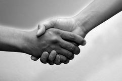 Deal!. Hand Shake royalty free stock photo