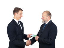 The deal Stock Photography