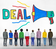 Deal Agreement Corporate Collaboration Partnership Concept Stock Images