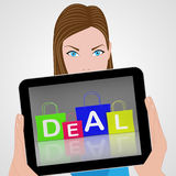 Deal Bags Displays Retail Shopping and Buying Stock Photography
