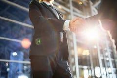 Deal of brokers Stock Image
