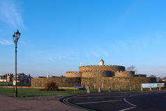 Deal Castle. In Kent, England. Built during  reign of Tudor King Henry VIII as defence against invasion Royalty Free Stock Images