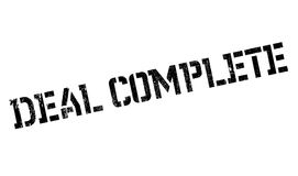 Deal Complete rubber stamp Royalty Free Stock Images
