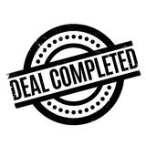 Deal Completed rubber stamp Royalty Free Stock Photo