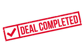Deal Completed rubber stamp Royalty Free Stock Image