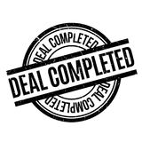 Deal Completed rubber stamp Royalty Free Stock Images
