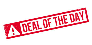 Deal Of The Day rubber stamp Royalty Free Stock Photography