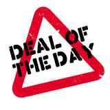 Deal Of The Day rubber stamp Stock Photography