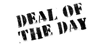 Deal Of The Day rubber stamp Royalty Free Stock Image