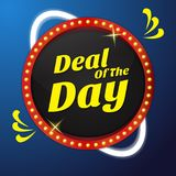 Deal Of the Day Vector Icon Button Design stock illustration