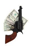 Deal with the gun Stock Photography