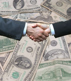 Deal handshake Stock Image