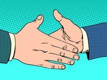Deal handshake business concept Stock Photo