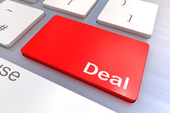 Deal Keyboard Concept Royalty Free Stock Photo