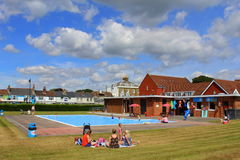 Deal leisure complex Kent England UK stock images