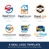 Deal Logo Template Design Vector Stock Photo