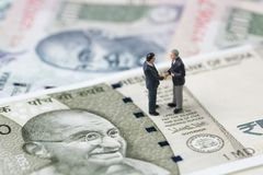 Deal, negotiation and collaboration for India financial and econ