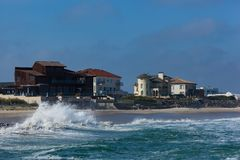 Deal New Jersey Beach Royalty Free Stock Images