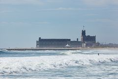Asbury Park from Deal Stock Images