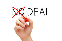 Deal Or No Deal Concept Royalty Free Stock Images
