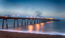 Deal Pier in Kent Stock Photo
