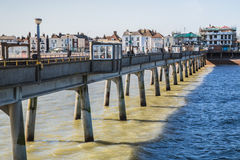 Deal Pier Royalty Free Stock Image