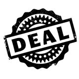 Deal rubber stamp Royalty Free Stock Photography