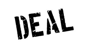 Deal rubber stamp Stock Images