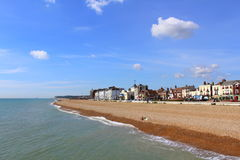 Deal seafront scenic view Kent England UK Royalty Free Stock Photography